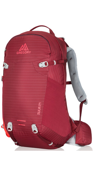 Gregory Sula 24 Backpack Women ruby red